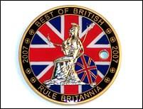 The Best Of British Geocoin 2007.