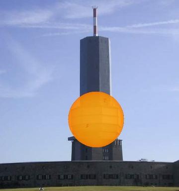 Tower as Sun