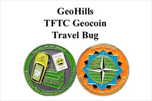 TFTC Geocoin Travel Bug