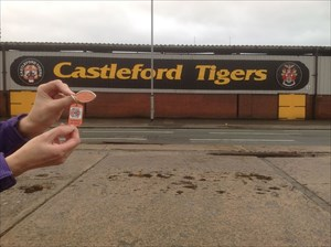 Home of the Castleford Tigers