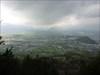 Gruselige Stimmung über Salzburg