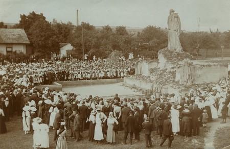 Slavnostní odhalení pomníku — 5.cervence 1914