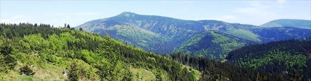 Výhledy na Lysou Horu