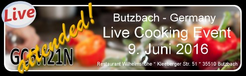 Live Cooking in Butzbach