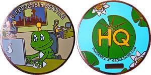Sleepless in Seattle Geocoin