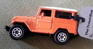 Orange Land Cruiser