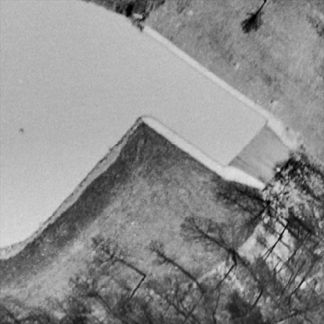 1960 close-up of the dam