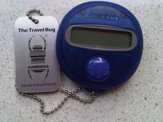 tb40f31 travel bug dog tag swatch the beep box. Black Bedroom Furniture Sets. Home Design Ideas