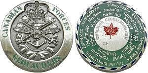 Canadian Forces Geocoin #IV