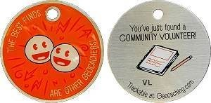 Community Volunteer Travel Tag