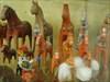 historical Dala horses log image