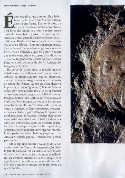 GC832Q2 Trilobites de Canelas [Arouca] (Earthcache) in