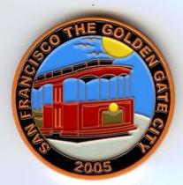 San Francisco Copper Geocoin