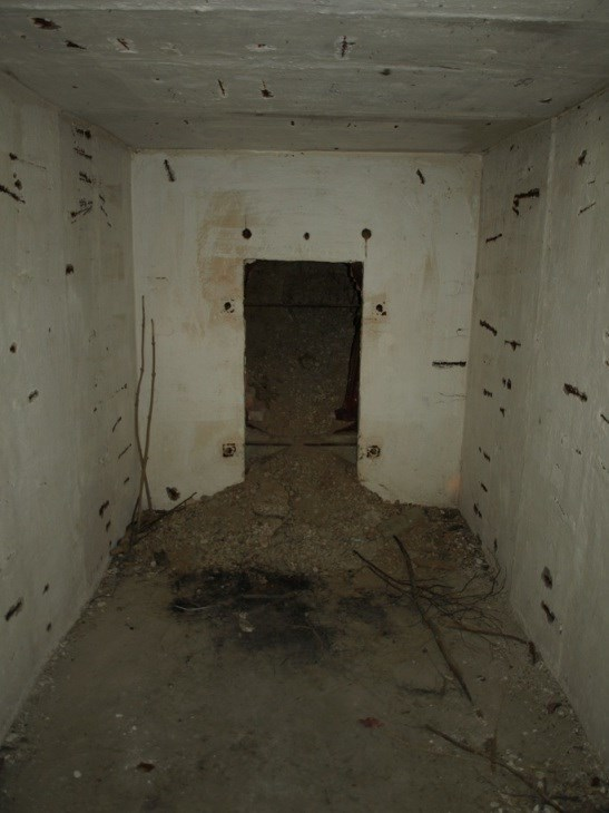 Vnitrek bunkru