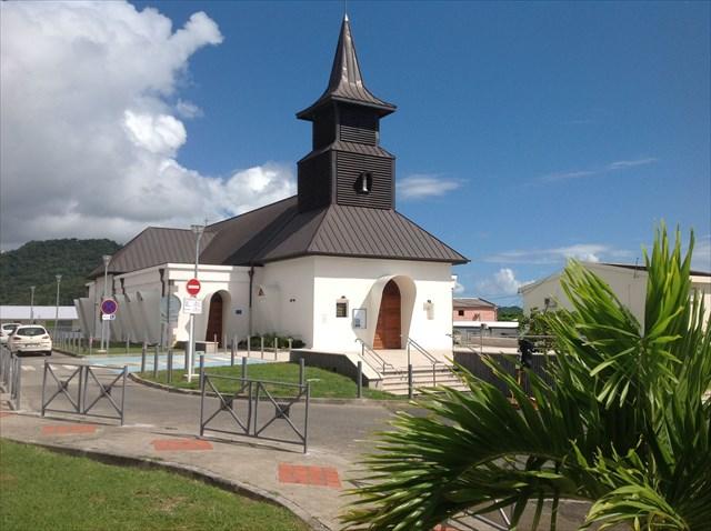 Gc5m06e eglise sainte lucie sainte luce traditional cache in martinique created by everay - Sainte luce martinique office du tourisme ...