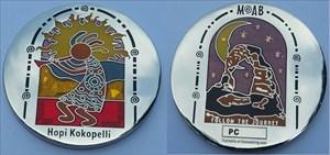 Hopi Kokopelli Geocoin
