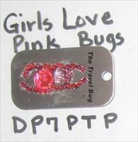 Girls Love Pink Bugs
