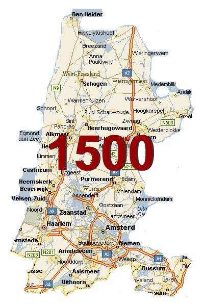 Holland 1500: GC55TG1 Noord-Holland 1500 Founds Challenge (Unknown Cache