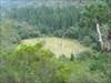 O prado de Leonte, visto do meio da subida
