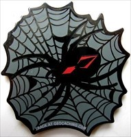 Black Widow Geocoin