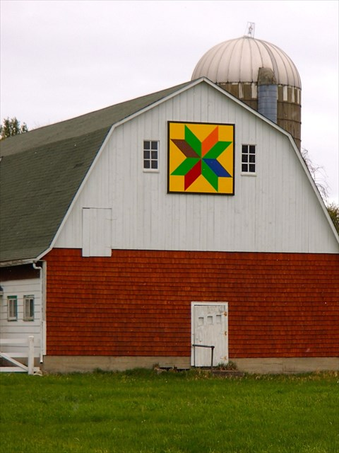 Gc4byym Washington Island Barn Quilt Goodlet Farm Unknown