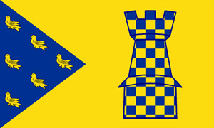 Sussex - Lewes flag