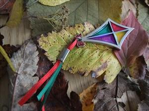 FAK's Kite Geocoin Colorful