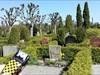 Visiting a graveyard in Trelleborg.