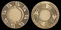 Mimbres 2.0 Geocoin - bronze
