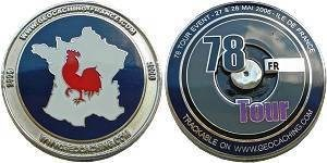 78 Tour - Ile De France Geocoin