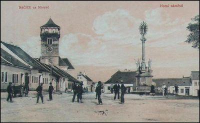 Horní náměstí sloup