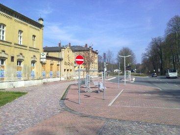Bahnhofsvorplatz heute (2010)