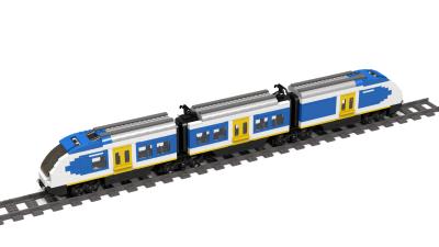 spoor trein lego
