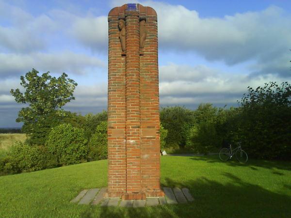 Stele ved Almsted Korsvej
