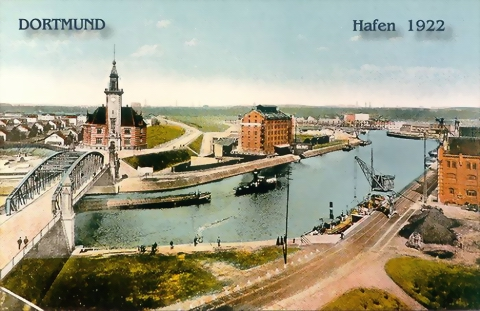 Dortmunder Hafen 1922