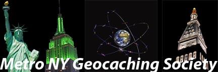 Metro NY Geocaching Logo