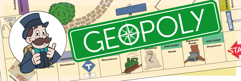 Van Start t/m Kalverstraat vond ik 36 GEOPOLY caches!