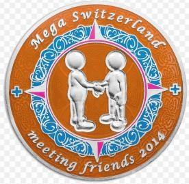 MEGA Switzerland – meeting friends 2014-Helfercoin