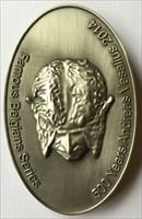 LordT's Famous Belgians A. Vesalius Geocoin - Fron