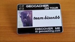 team-bison66 Name Tag