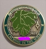 Dartmoor Geocoin 2021 Free at Last