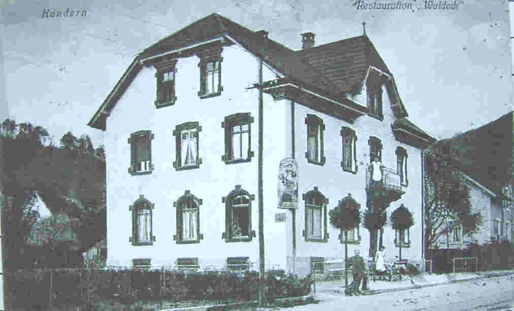 Wälderbahnhof Gasthaus Waldeck