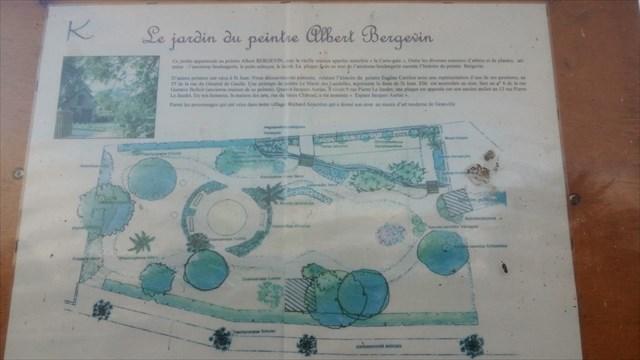 Le jardin du peintre Albert bergevin