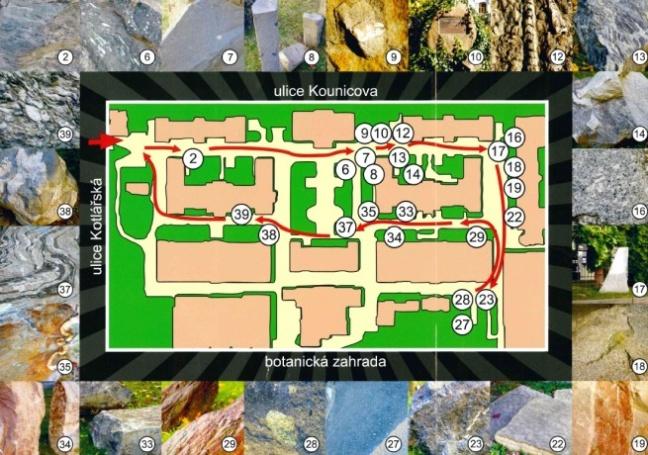 Plán Geoparku Přírodovědecké fakulty v Brně