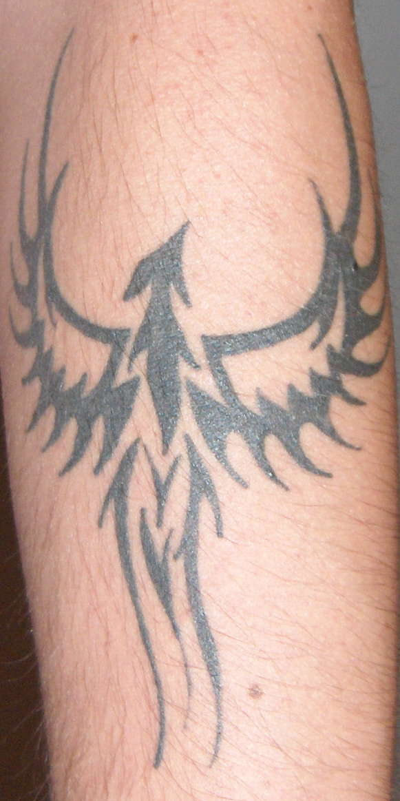 Mr. Superpallo's Fenix tattoo