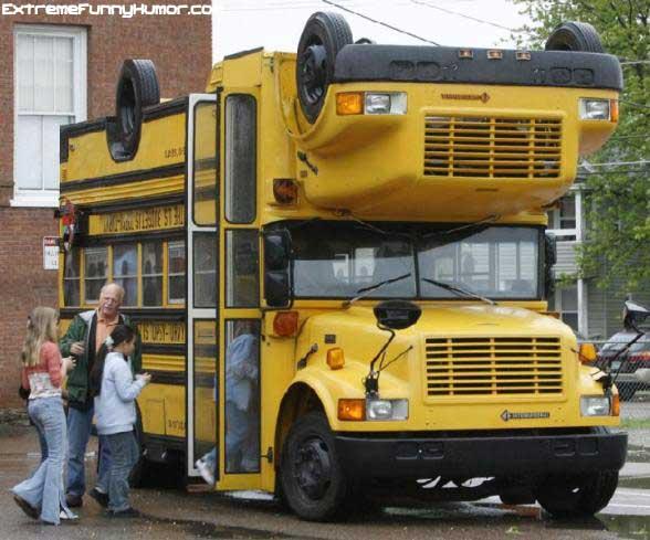 Flippy School Bus