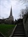 St Lawrence church. Stroud.