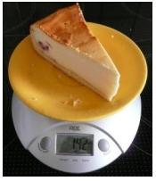 Masse 142 g