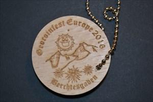 Geocoinfest 2016 - Berchtesgaden - Wood Coin