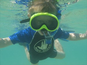 Nolan Snorkeling